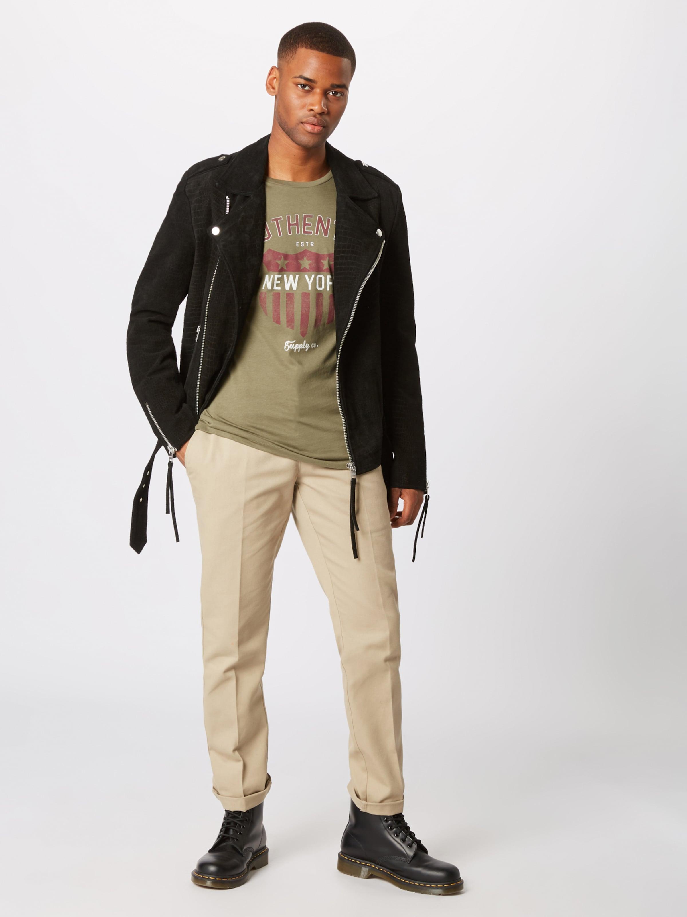 Ss Jackamp; De shirt Vin En Jones OliveLie Tee Blanc Neck' T 'jorresta Crew shCxBQrdto