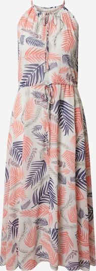Mela London Kleid in beige / blau / pink, Produktansicht