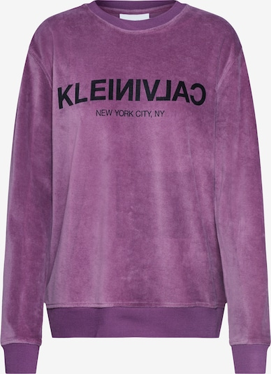 Bluză de molton Calvin Klein pe mov închis, Vizualizare produs