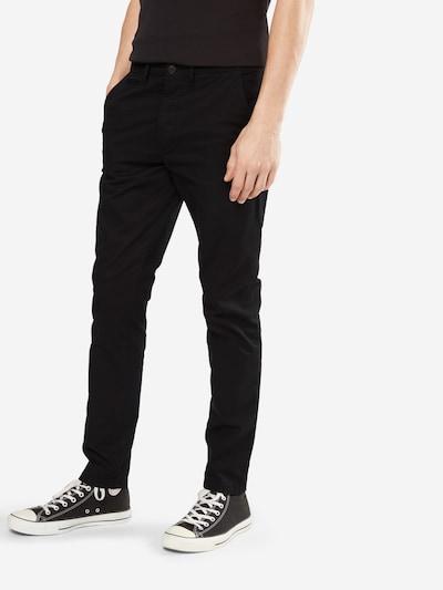 JACK & JONES Chino 'JJIMARCO JJENZO' in de kleur Zwart, Modelweergave