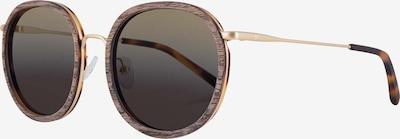Kerbholz Sonnenbrille 'Jakob' in braun, Produktansicht
