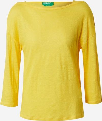 UNITED COLORS OF BENETTON Shirt in gelb, Produktansicht