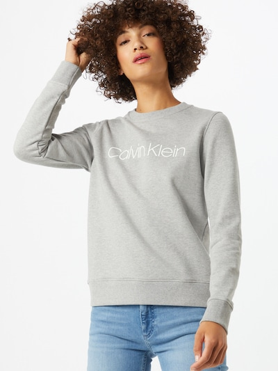 szürke melír Calvin Klein Tréning póló, Modell nézet