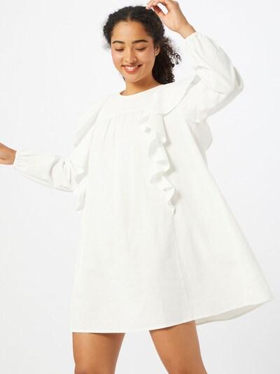 Envii Kleid 'Saloon' in weiß, Modelansicht