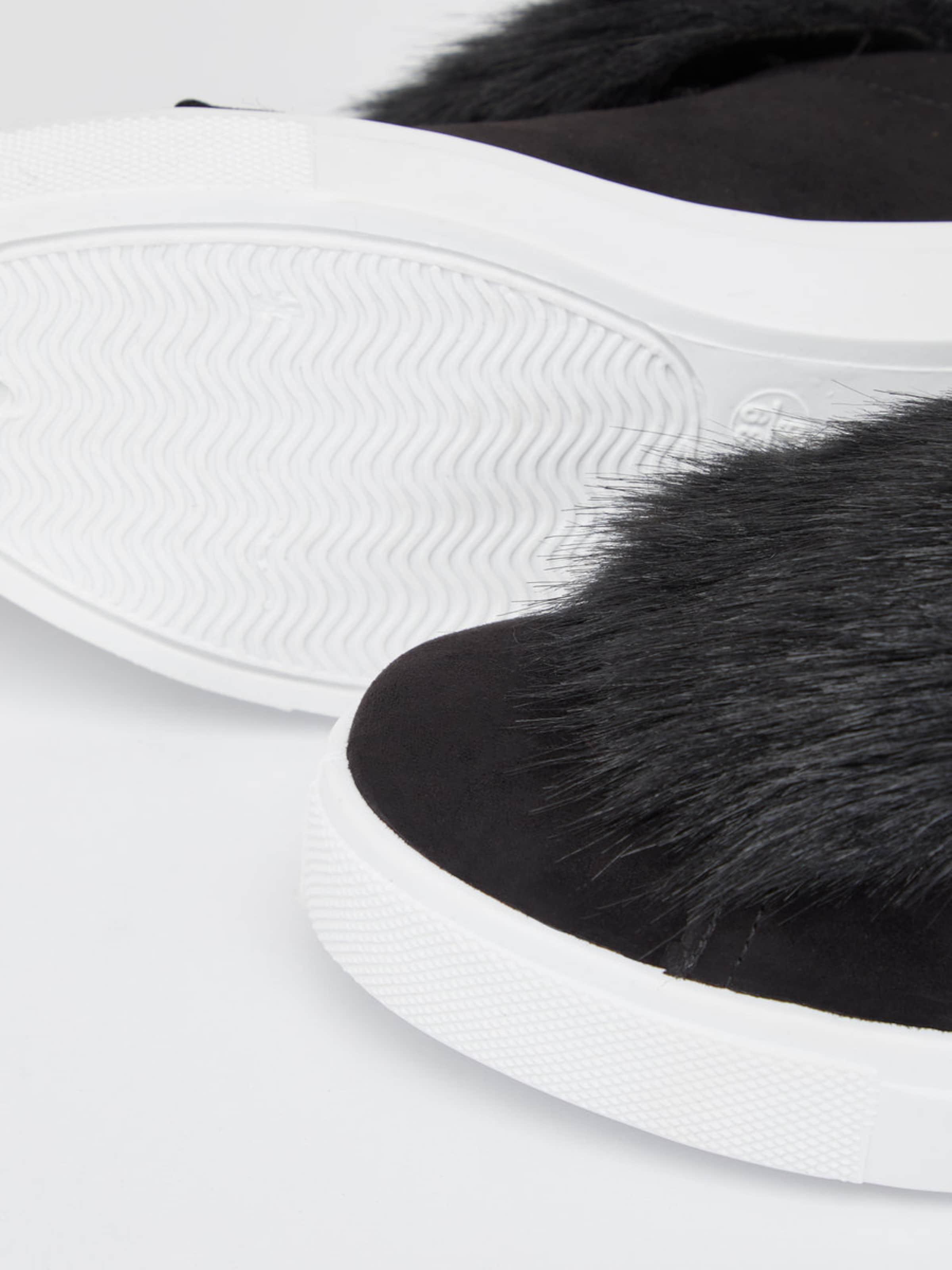 Bianco Sneaker Fell-Deko Spielraum Günstig Online Echt Rabatt Browse djFnK416bo