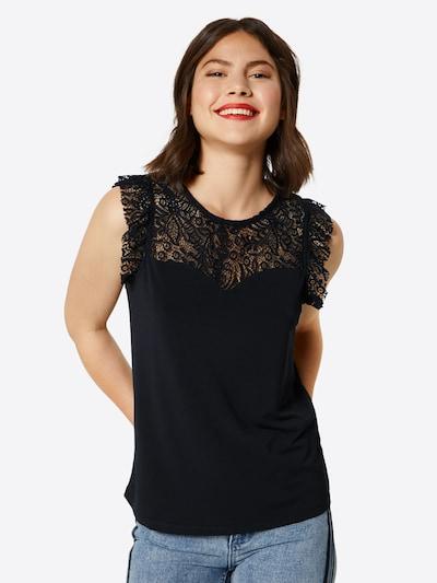 VERO MODA Top in schwarz, Modelansicht