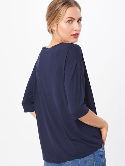ESPRIT T-shirt 'Noos' en bleu marine: Vue de dos