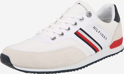 TOMMY HILFIGER Sneaker 'MAXWELL' in navy / hellgrau / rot / weiß, Produktansicht