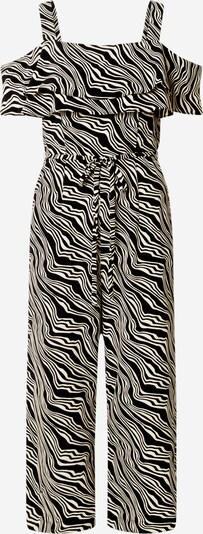 TOM TAILOR Jumpsuit in schwarz / weiß, Produktansicht