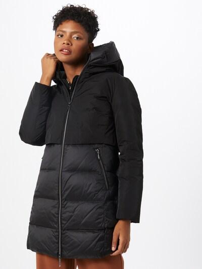 GIL BRET Mantel in schwarz, Modelansicht