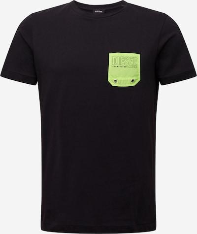 DIESEL T-Shirt in schwarz, Produktansicht
