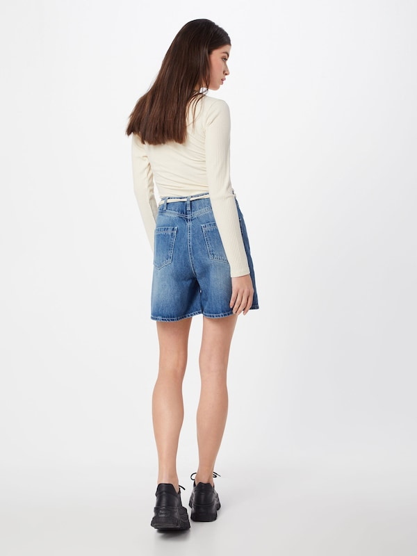 Review Bleu Cut Denim 'hw Jean on Shorts' En HWD29IE