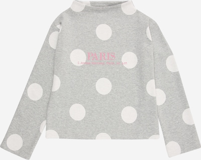 BLUE SEVEN Shirt in hellgrau / pink / weiß, Produktansicht