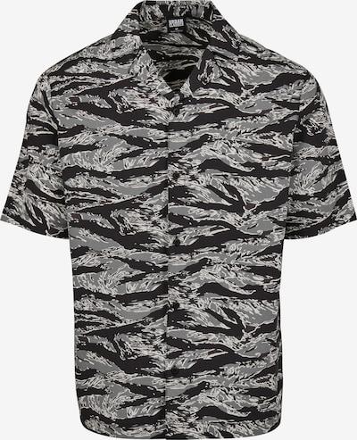 Urban Classics Hemd in grau / schwarz / weiß, Produktansicht
