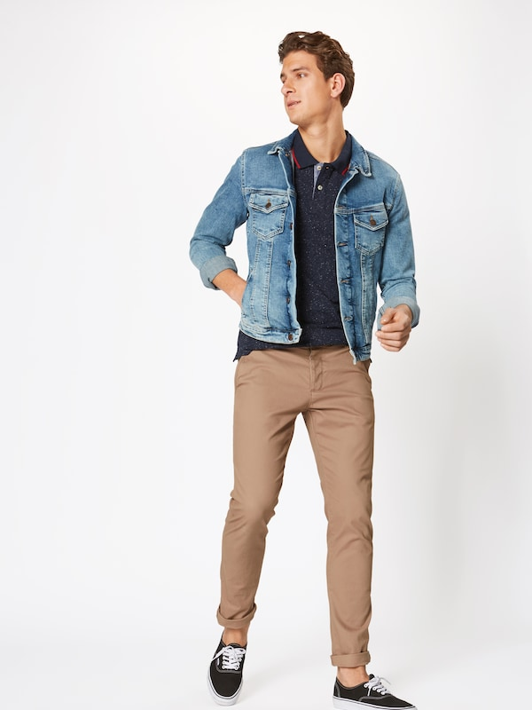 Jackamp; T Bleu En shirt 'roger' Jones Marine c5qA4SL3jR