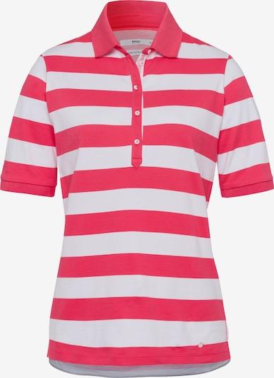 BRAX T-shirt 'Cleo' en rose néon / blanc, Vue avec produit