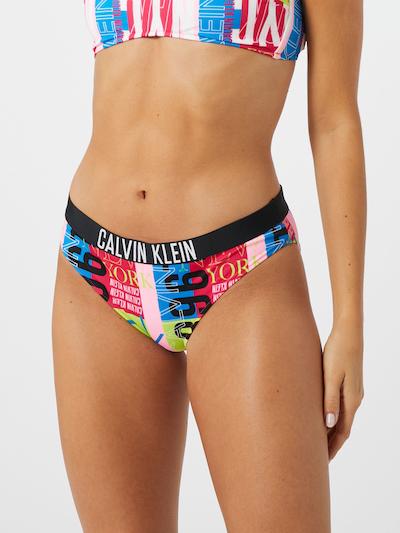 Calvin Klein Swimwear Bikinihose in mischfarben, Modelansicht