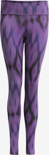 "YOGISTAR.COM Yogi-leggings ""devi"" - Ikat Purple in dunkellila, Produktansicht"
