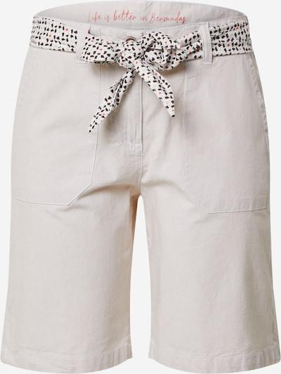 TOM TAILOR Shorts in beige, Produktansicht