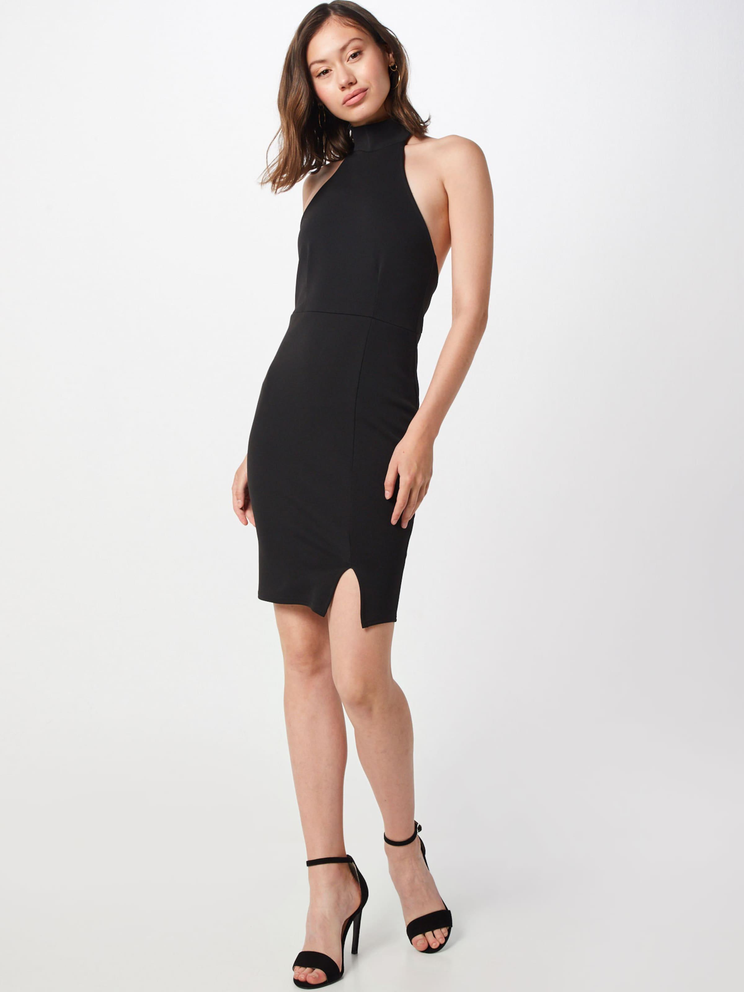 Kleid Schwarz Missguided Dress' Mini 'choker In Ib76gYfyv