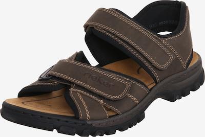 Sportinio tipo sandalai iš RIEKER , spalva - mokos spalva, Prekių apžvalga