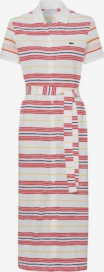 LACOSTE Kleid in blau / gelb / rot / weiß, Produktansicht
