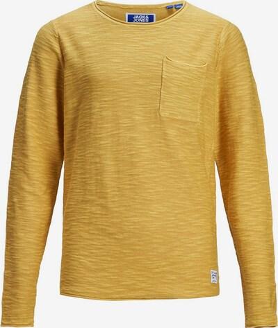 Jack & Jones Junior Jungs Rundhalsausschnitt Pullover in dunkelgelb, Produktansicht