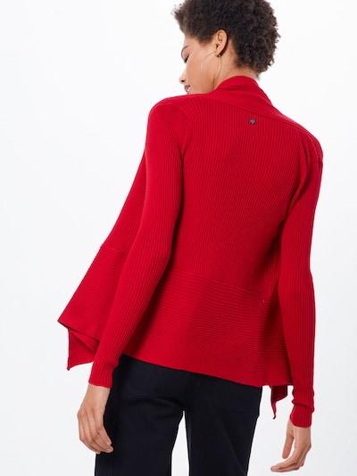 ESPRIT Cardigan en rouge: Vue de dos
