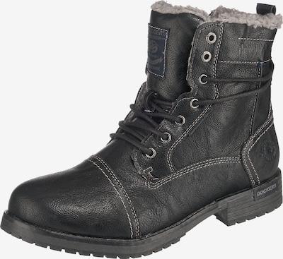 Dockers by Gerli Boots in hellgrau / schwarz, Produktansicht