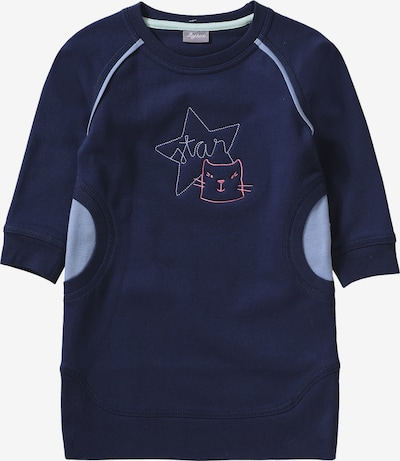 SIGIKID Kleid in navy / hellblau, Produktansicht
