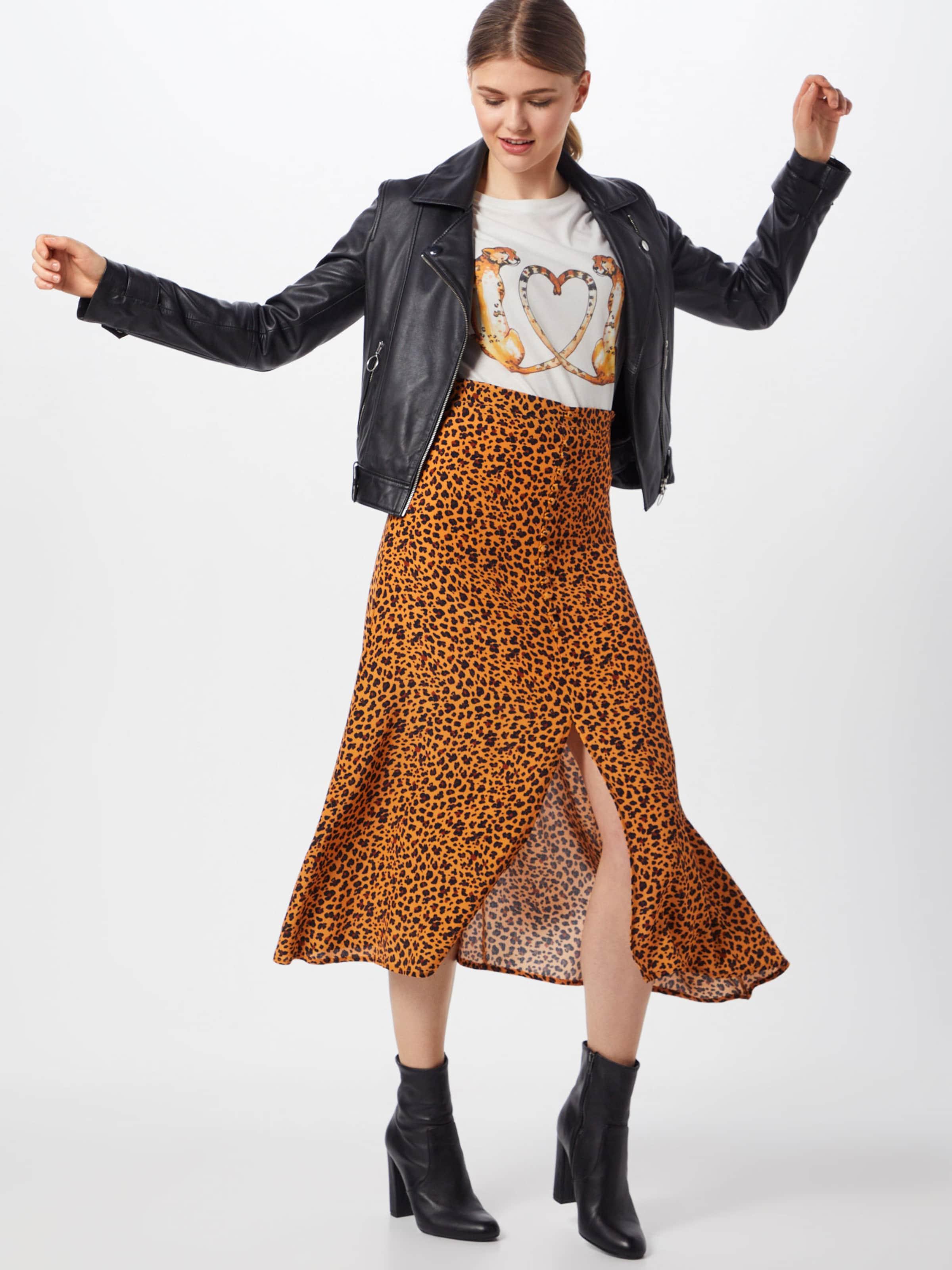 Cheetah 'ts Shirt Catwalk Weiß Love' In Junkie PkO80nw