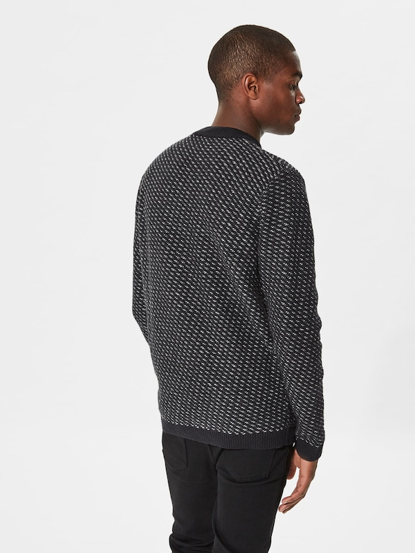 SELECTED HOMME Strickpullover Wollmix-