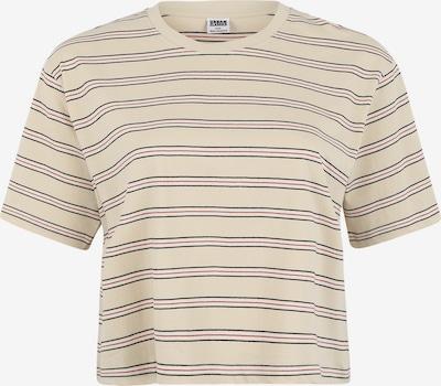 Urban Classics Curvy Shirt in de kleur Sand / Rood / Zwart, Productweergave