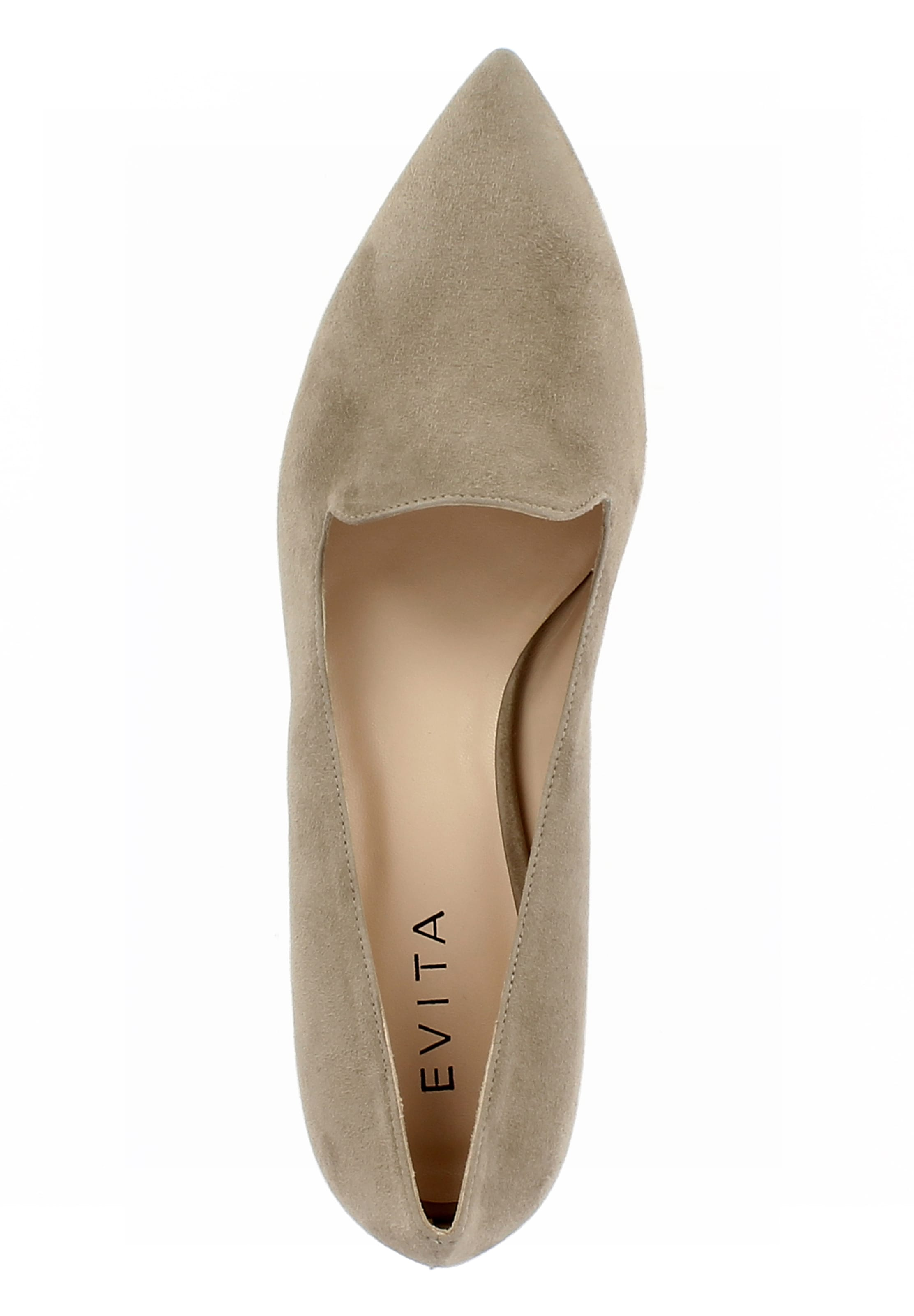 Beige Evita Damen In Slipper 'franca' wn0kOP