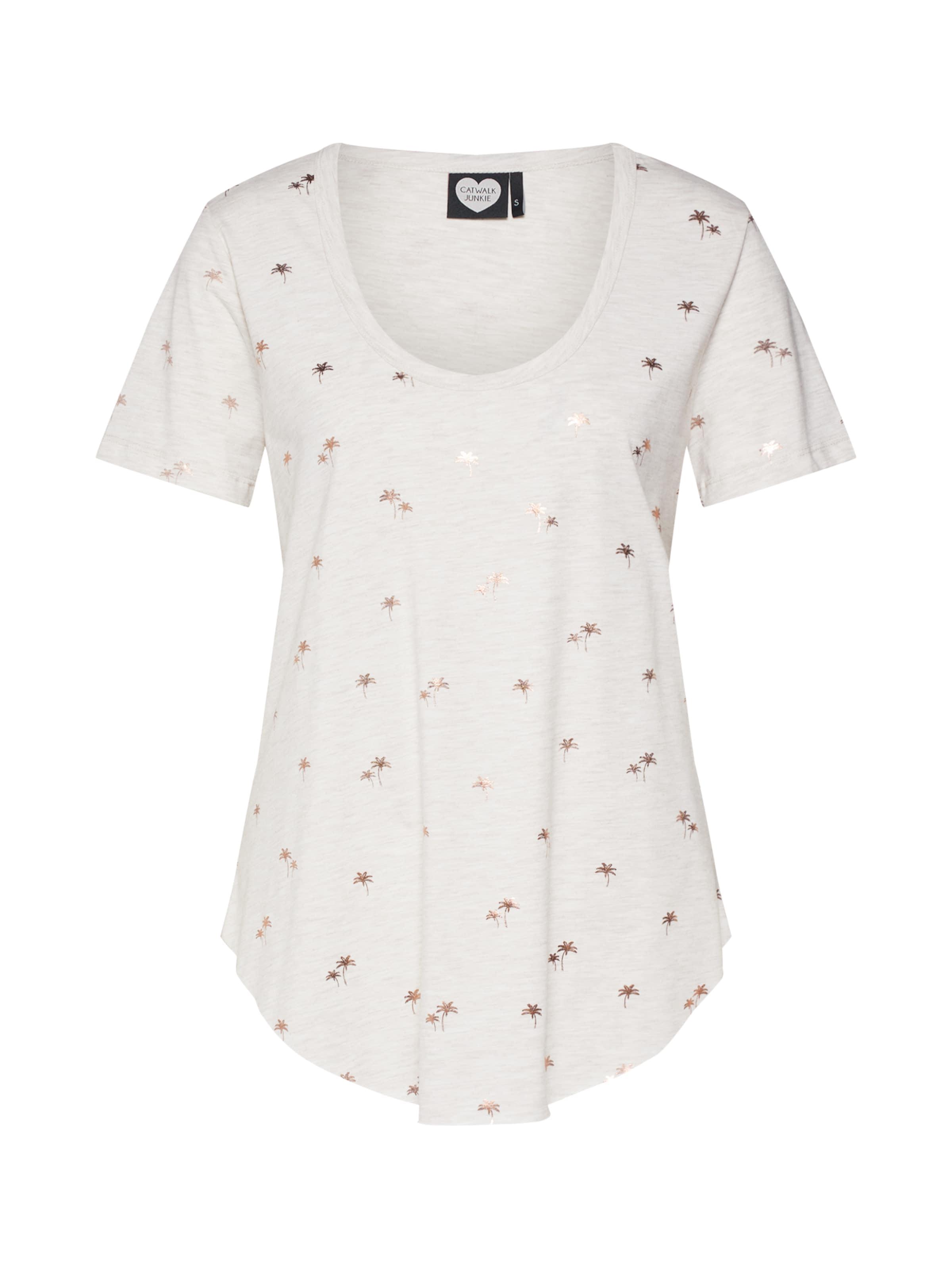 T Tropical Catwalk shirt 'ts Mel' En Junkie CrèmeOr thsdCQxrB