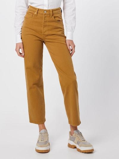 LEVI'S Jeansy 'RIBCAGE' w kolorze szafranowym, Podgląd na modelu(-ce)