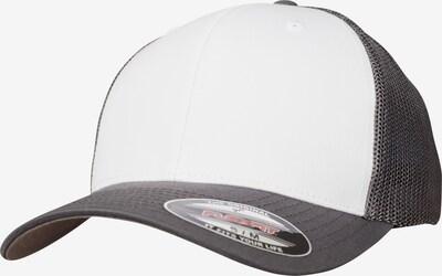 Flexfit Cap in basaltgrau / weiß, Produktansicht