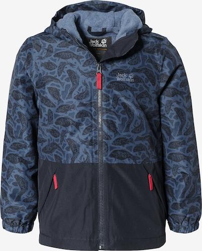 JACK WOLFSKIN Winterjacke 'Snowy Days' in blau / marine, Produktansicht