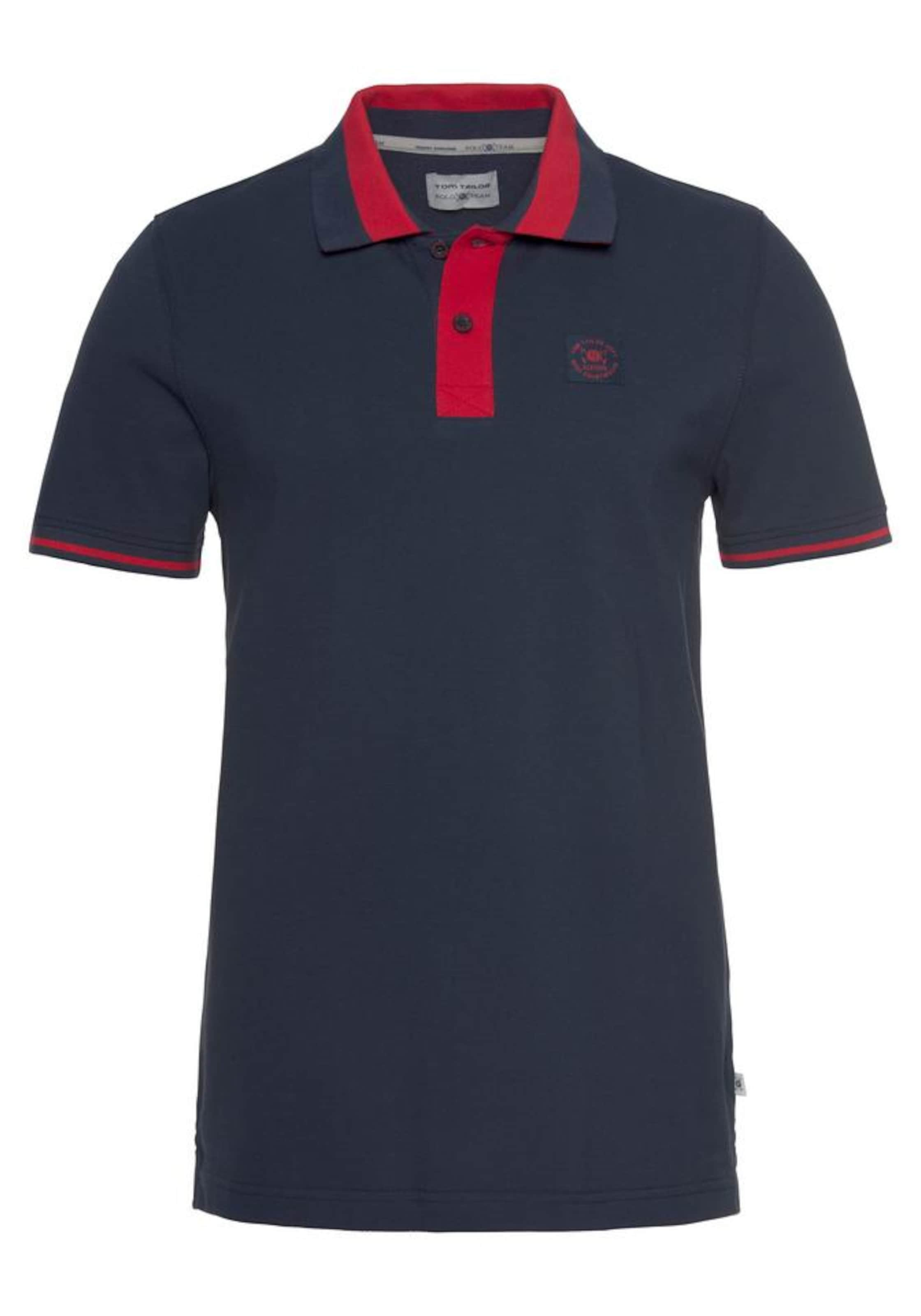 Tom Poloshirt Tailor In Marine Polo Team IWEe9DYHb2