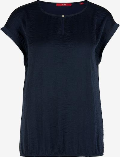 s.Oliver T-Shirt in nachtblau, Produktansicht