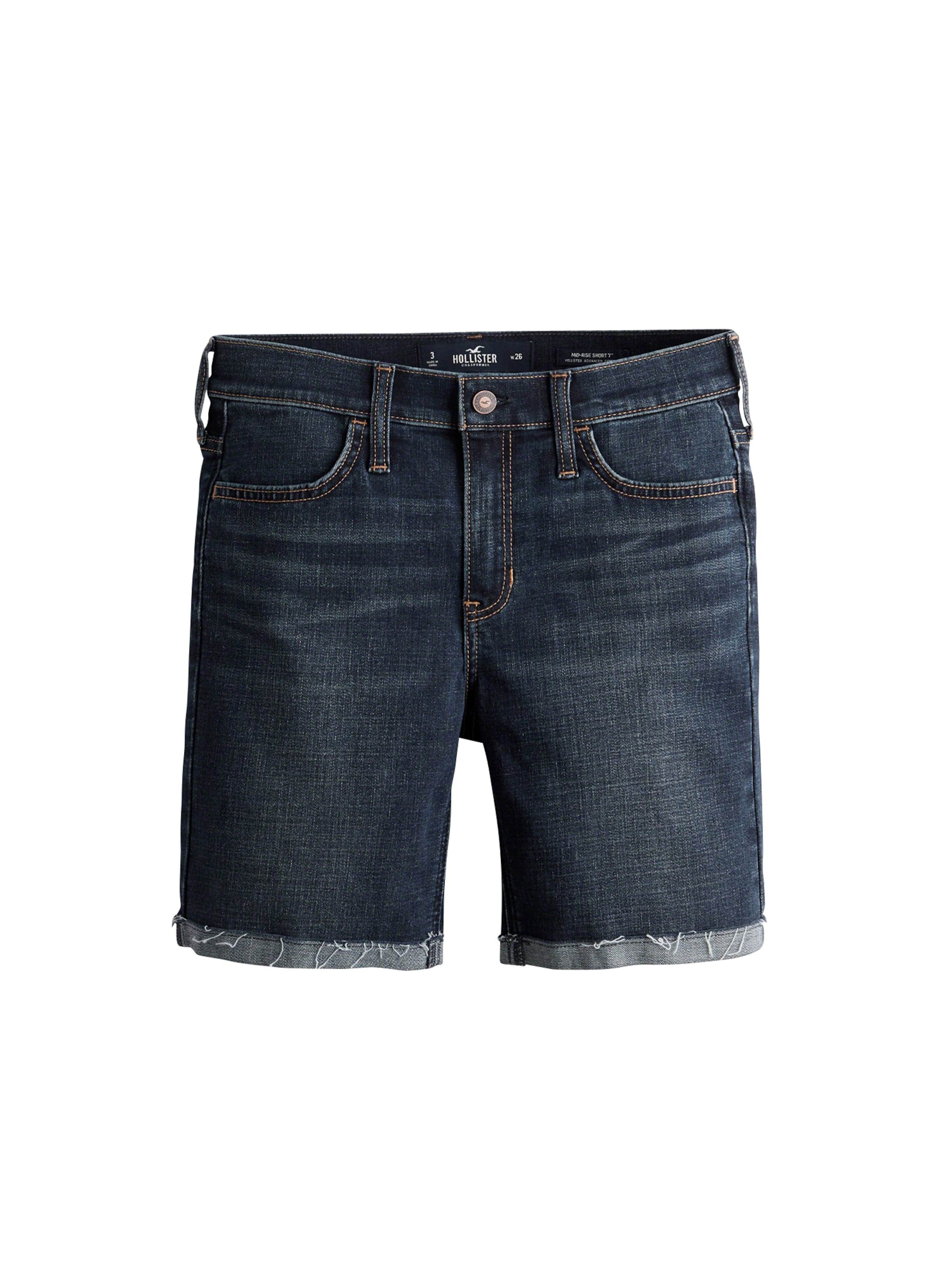 Blue Hollister As Mr 'sb19 dtc Boyshort' In Jeans Denim Y6fgyb7v
