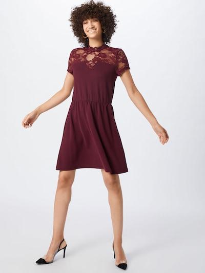 ONLY Kleid 'MONA' in weinrot, Modelansicht