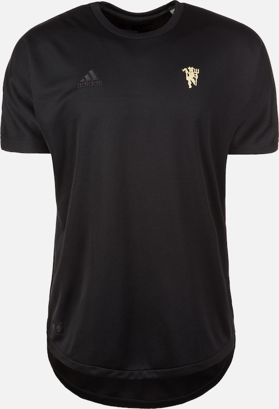 ADIDAS PERFORMANCE Trainingsshirt 'Manchester United' in schwarz, Produktansicht