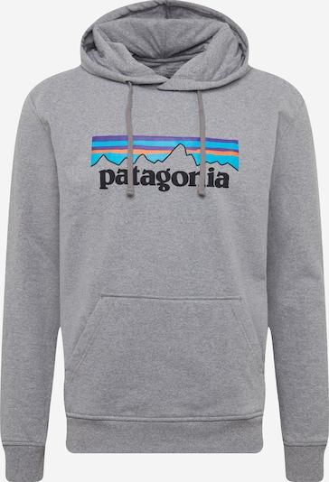 PATAGONIA Sweatshirt 'M's P-6 Logo Uprisal' in blau / grau, Produktansicht