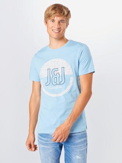 JACK & JONES Särk sinine / must: Eestvaade
