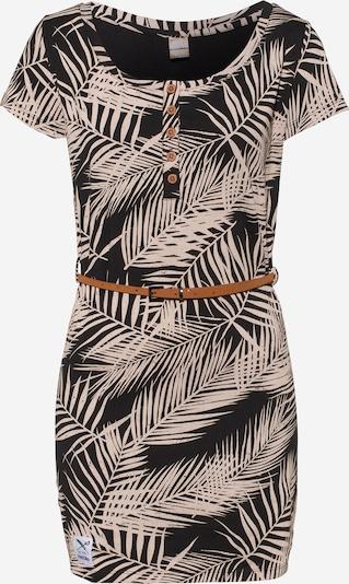 Iriedaily Minikleid aus Jersey 'La Palma' in creme / schwarz, Produktansicht
