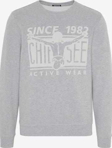 CHIEMSEE Sportsweatshirt i grå