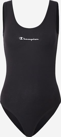 Champion Authentic Athletic Apparel Top | črna / bela barva, Prikaz izdelka