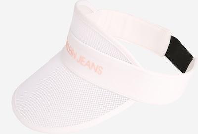 Calvin Klein Jeans Šešir 'LOGO TRANSPARENT VISOR' u bijela, Pregled proizvoda