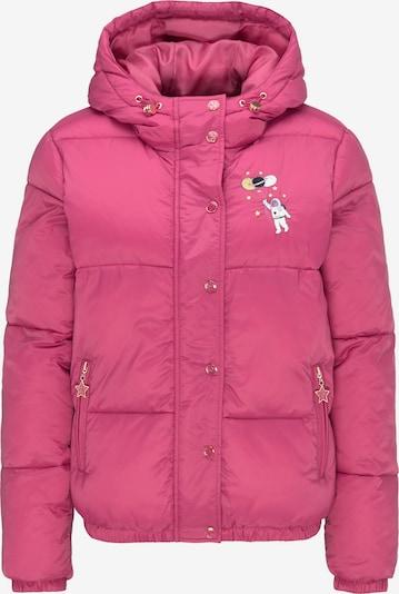 MYMO Veste d'hiver en mélange de couleurs / rose, Vue avec produit